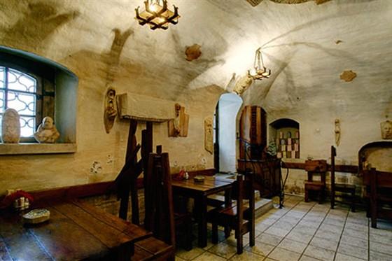 Ресторан Табурет - фотография 12 - Зал Друиды