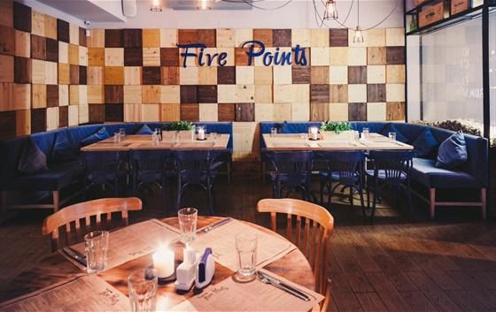 Ресторан The Five Points - фотография 13