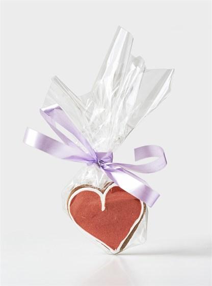 Ресторан Bontart - фотография 17 - Имбирные прянички в виде сердца!
