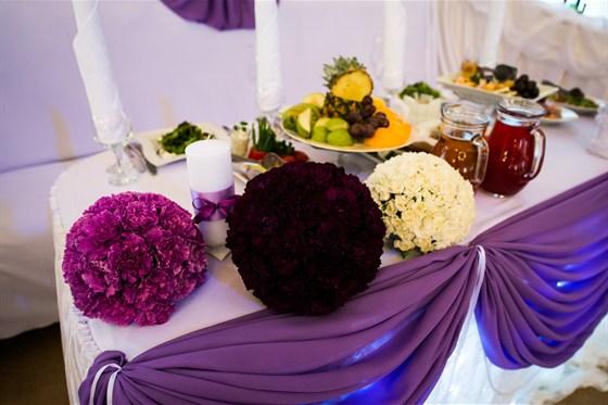 Ресторан Волгоград - фотография 4 - Свадебный банкет