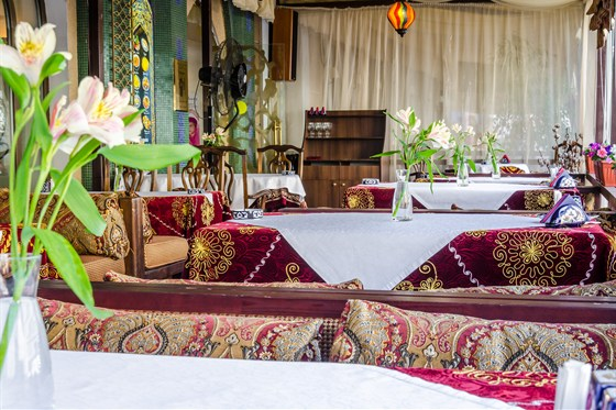 Ресторан Самарканд - фотография 12 - Летняя веранда в Самарканде
