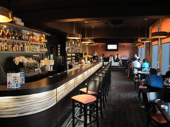 Ресторан Бариста - фотография 2 - Основной зал