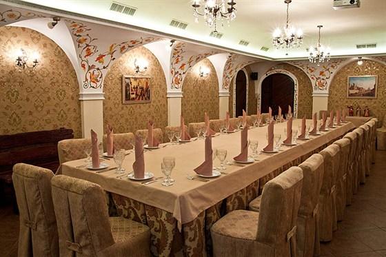 Ресторан Добрыня - фотография 3 - Боярский зал (до 30 персон).