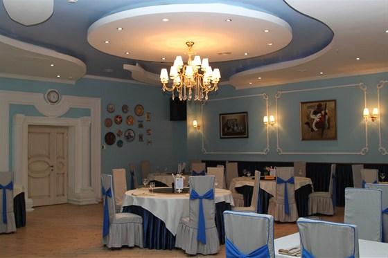 Ресторан Норд стар - фотография 12 - Синий зал ресторана