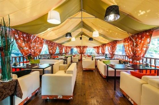 Ресторан Райская трапеза - фотография 1 - Летняя веранда
