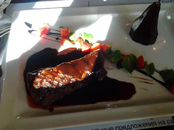 Ресторан Repin Lounge - фотография 6 - Филе оленя