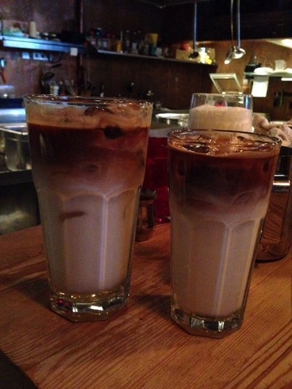 Ресторан Николь - фотография 4 - Освежающие коктейли.  Один из примеров на основе эспрессо.