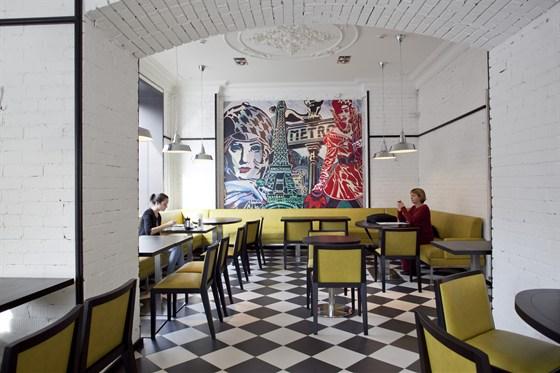 Ресторан Булка - фотография 2 - Интерьер ресторана