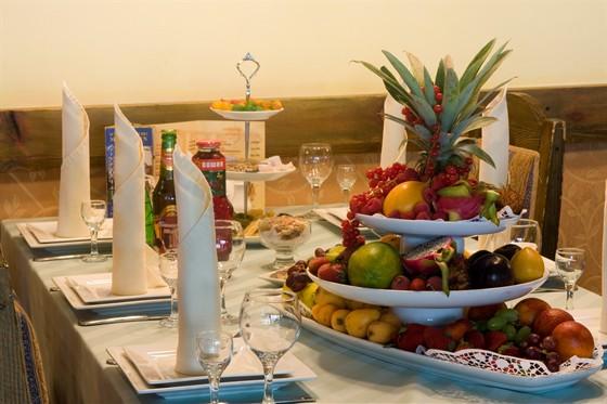 Ресторан Жажда вкуса - фотография 18 - Сервировка