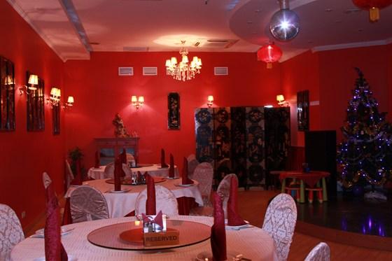 Ресторан Норд стар - фотография 15 - Красный зал ресторана