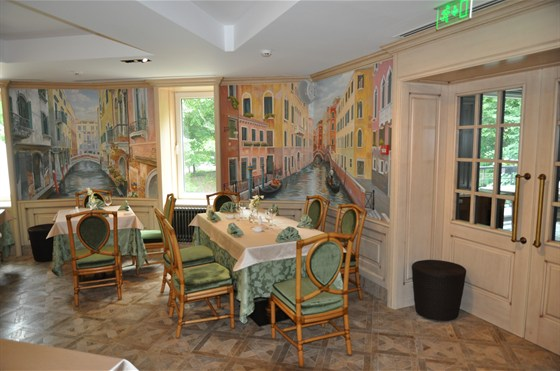Ресторан Il pittore - фотография 11 - 2-ой этаж
