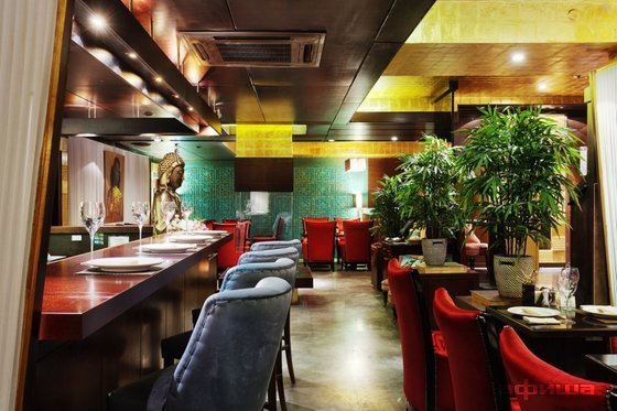 Ресторан Крепдешин - фотография 11