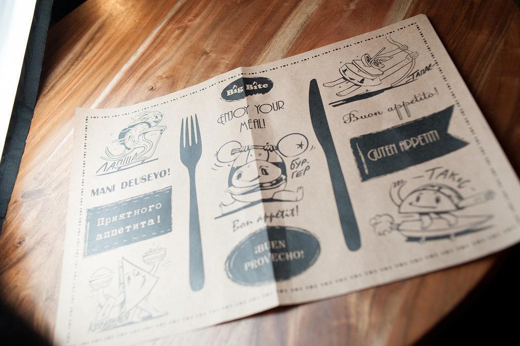 Ресторан Big Bite Café - фотография 15