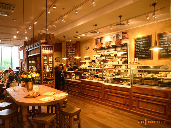 Ресторан Le pain quotidien - фотография 2