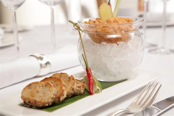 Ресторан Поло-клуб - фотография 6 - ASIAN STYLE SALMON TERIYAKI