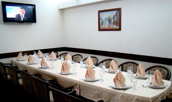 Ресторан Золотое время - фотография 8 - Банкетный зал VIP