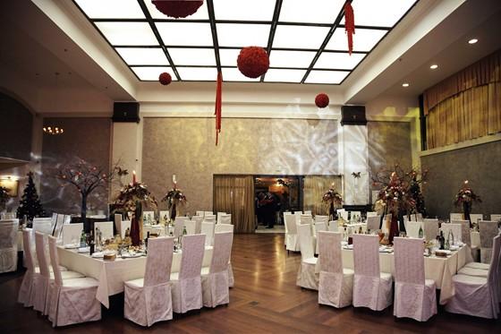 Ресторан Спутник - фотография 7 - Большой банкетный зал