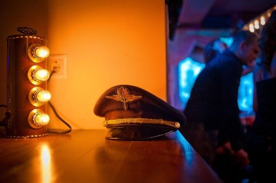 Ресторан Авиатор - фотография 10 - Интерьер клуба
