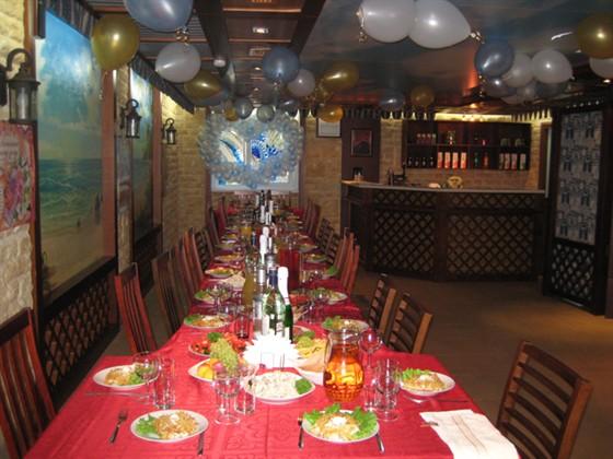 Ресторан Юг - фотография 3 - Интерьер