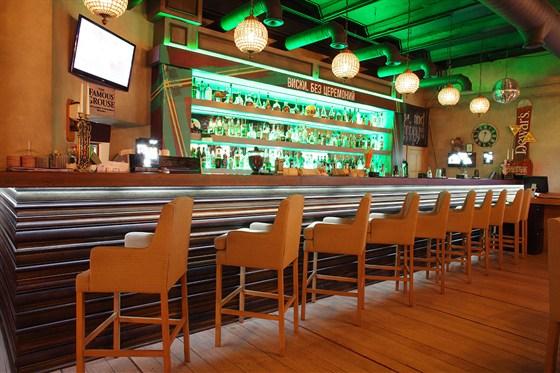 Ресторан Jimmy's Pub - фотография 1 - Барная стойка