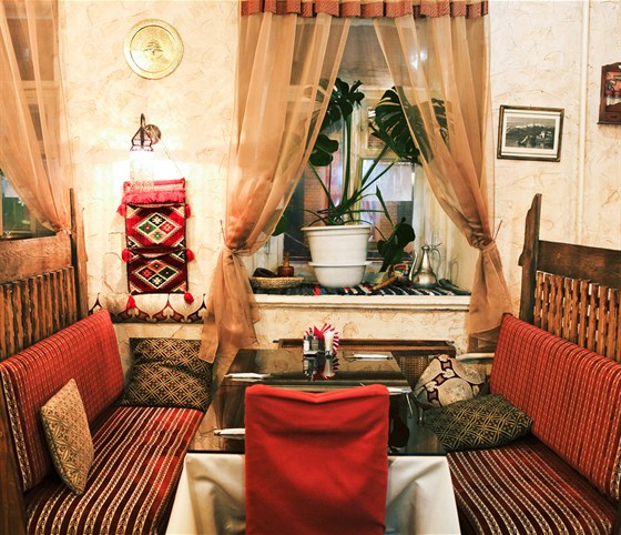 Ресторан Бейрут  - фотография 11 - Диваны