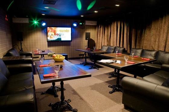 Ресторан Сытый лось - фотография 16 - караоке
