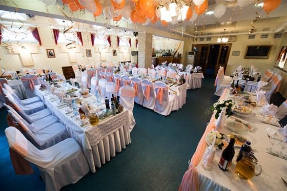 Ресторан Южный - фотография 4 - Свадебный банкет
