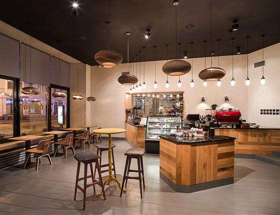 Ресторан Bonch - фотография 4 - Интерьер Bonch Coffee Bar