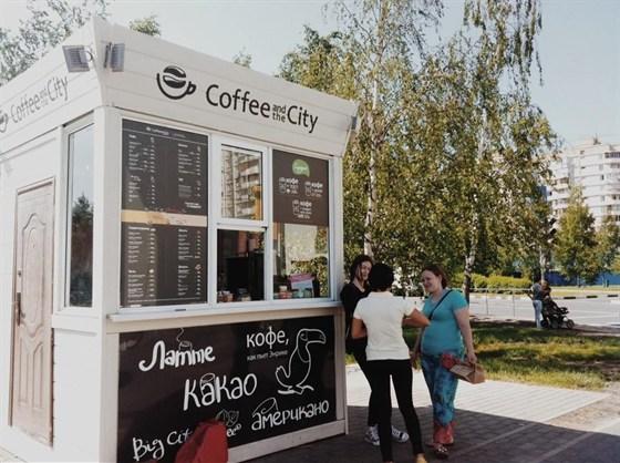 Ресторан Coffee and the City - фотография 1 - Кофейня в парке Городня