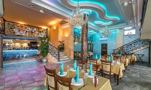 Ресторан Аквариум - фотография 4 - Главный зал.