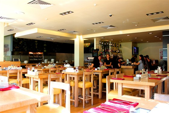 Ресторан Vapiano - фотография 3 - Интерьер