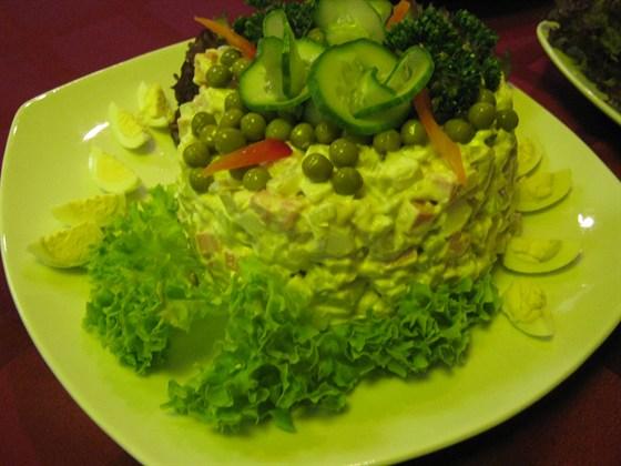 Ресторан Охта - фотография 5 - Оливье