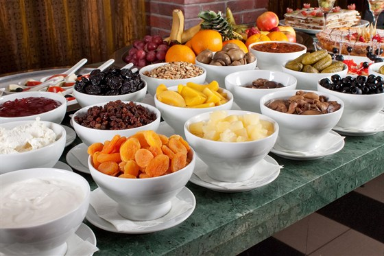 Ресторан Plaza - фотография 9 - Незабываемый завтрак в ресторане Plaza