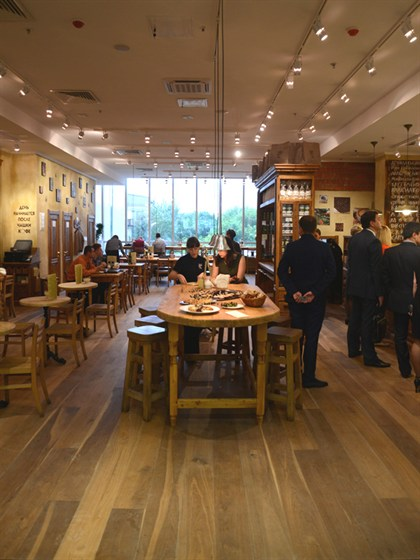 Ресторан Le pain quotidien - фотография 12