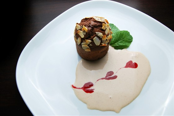 Ресторан Felice - фотография 24 - Шоколадный Флан 240 руб