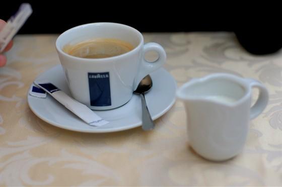 Ресторан На Знаменке - фотография 4 - кофе