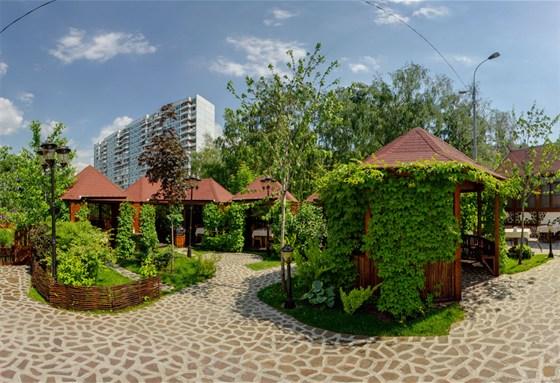 Ресторан Шахин-шах - фотография 9 - Летние беседки