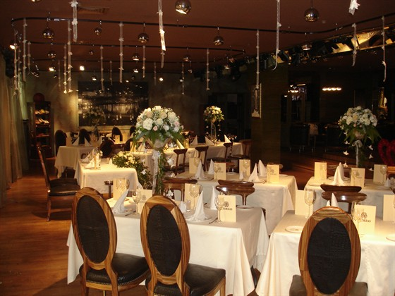 Ресторан Andreas - фотография 10 - Основной зал - Банкет