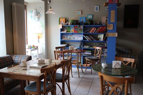 """Ресторан Книги и кофе - фотография 1 - """"Кофейный зал"""""""