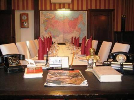 Ресторан Навек родня - фотография 5 - Кабинет партработника