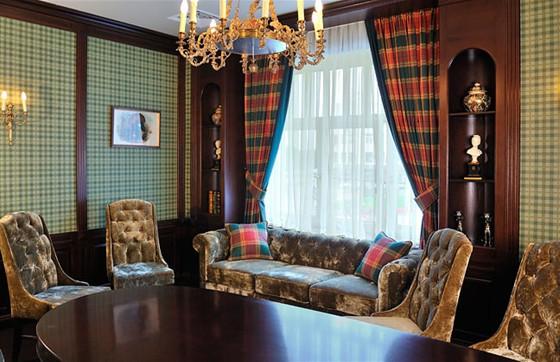 """Ресторан Круаж - фотография 3 - Зал """"Кабинет"""" на 10 персон - 2 этаж"""