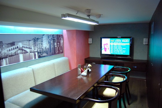 Ресторан Портофино - фотография 9 - VIP-зал