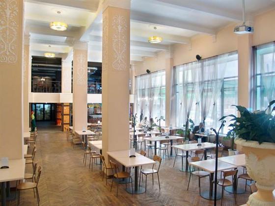 Ресторан Теплица - фотография 1 - Столовая
