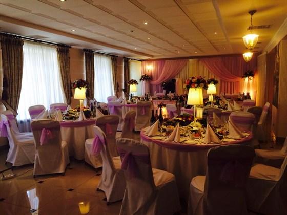 Ресторан Шереметьевский - фотография 7 - Свадебный банкет