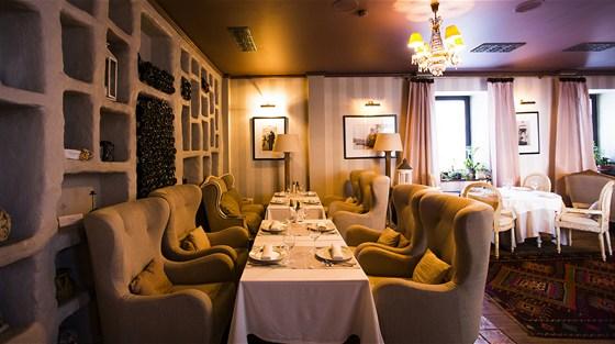 Ресторан Sorbetto - фотография 22 - Гостиная.