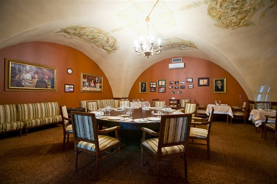 Ресторан Старая таможня - фотография 5 - Президентский зал