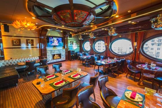 Ресторан Лодка - фотография 9 - Шлюпка - банкетный зал с караоке