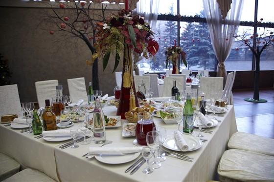Ресторан Спутник - фотография 5 - Большой банкетный зал