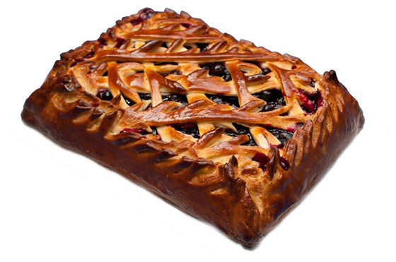 Ресторан Штолле - фотография 6 - Пирог с черной смородиной