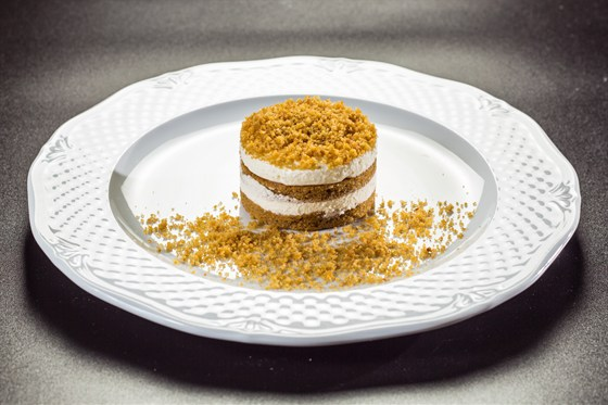 Ресторан Funky Lime - фотография 15 - Морковно-имбирный десерт